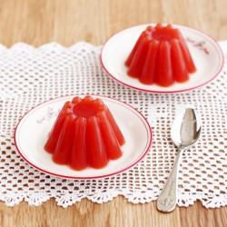Giảm cân hữu hiệu với thạch cà chua mát lạnh