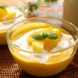 Giải cứu ngày nắng nóng với pudding xoài béo ngậy