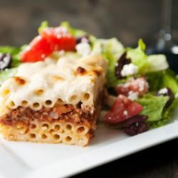 Hương vị mê mẩn với pasta pastitsio của Italia