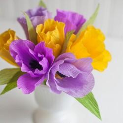 Khéo tay với hoa giấy