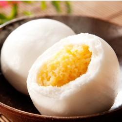 Chào ngày mới với bánh bao trứng