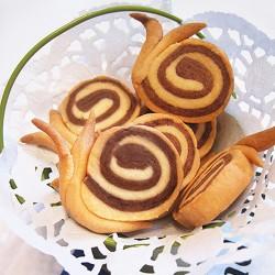 Bánh ốc sên cho bé yêu của bạn