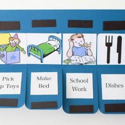Sáng tạo bảng nhắc việc đơn giản dễ thương