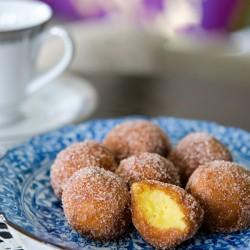 Độc, lạ bánh donut khoai lang