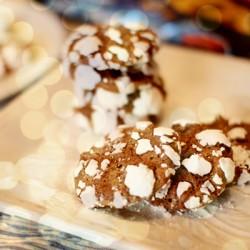 Bánh Cookie tuyết dành cho mems thích ăn vặt
