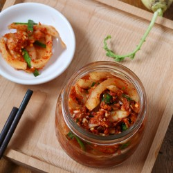 Củ cải muối kiểu Hàn Quốc nhà làm