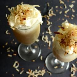 Mát lạnh Smoothie kem dừa Thái