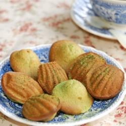 Thưởng thức bánh madeleine trà xanh mềm, ngon