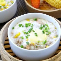 Ngon cơm hơn với trứng hấp ngô thịt