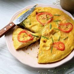 Bổ sung dinh dưỡng với trứng rán bí