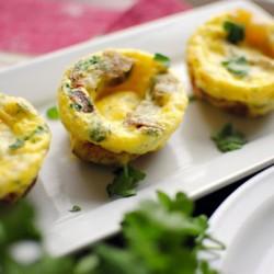 Trứng nướng khoai tây phong cách cupcake