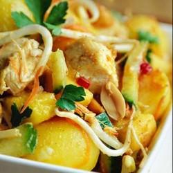 Gà trộn chua ngọt Indonesian style