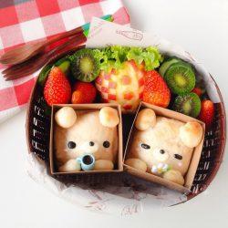 Bánh mì gấu cực kỳ đáng yêu