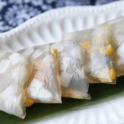 Thạch ngô cơm dừa mát lạnh