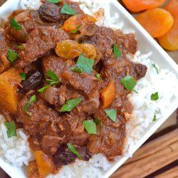 Cơm trộn sốt thịt bò Morocco
