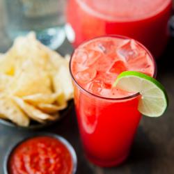 Giải nhiệt ngày nóng với soda dưa hấu