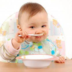 Cháo ăn dặm cho bé từ 5 đến 12 tháng tuổi