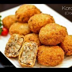 Cách làm bánh Korokke nhật bản thơm ngon đúng chuẩn!